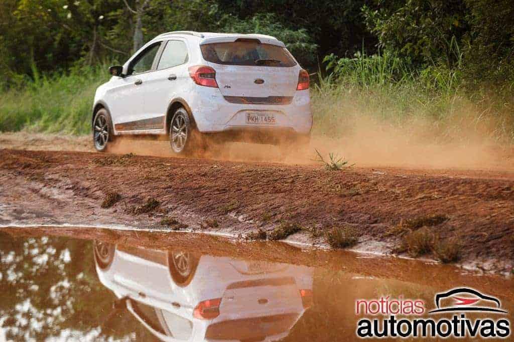 ford-ka-trail-NA-1 Ford Ka Trail chega com apelo aventureiro e preços a partir de R$ 47.690