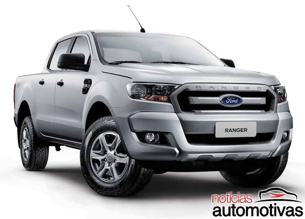 ford-ranger-2.2-xls-2017 Top 10: as picapes a diesel mais caras do Brasil