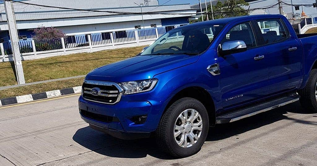 Ford Ranger 2018 Aparece Com Facelift Na Tail 226 Ndia