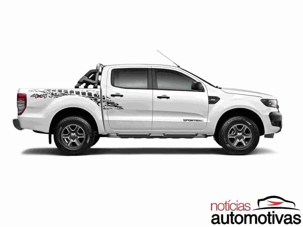 ford-ranger-sportrac-2018-1 Ford Ranger 2018 é anunciada com novas versões e equipamentos