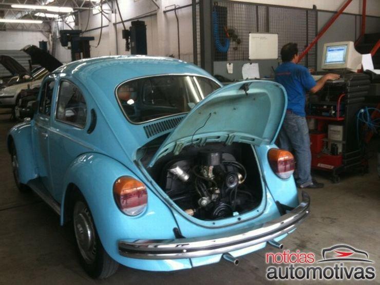 fusca-inspecao-veicular-1 Inspeção Veicular é dor de cabeça para donos de carros antigos