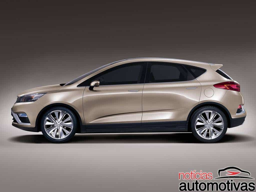 Geely Ec7 2014 Geely: A chinesa que c...