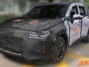 China: suposto Chevrolet FNR é flagrado com camuflagem
