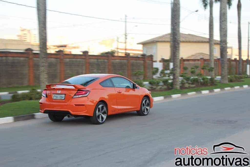 honda-civic-si-coupe-avaliação-NA-14 Honda Civic Si Coupe é prazer ao dirigir em tempo integral