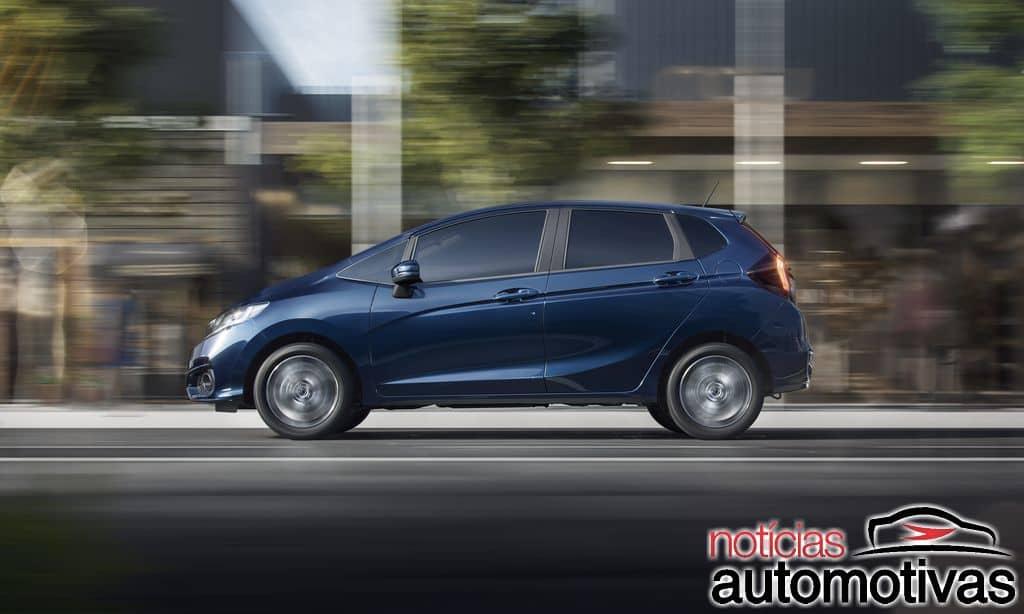honda fit 2018 NA 88 - Honda Fit 2018 chega com mudanças no visual e conteúdo a partir de R$ 58.700