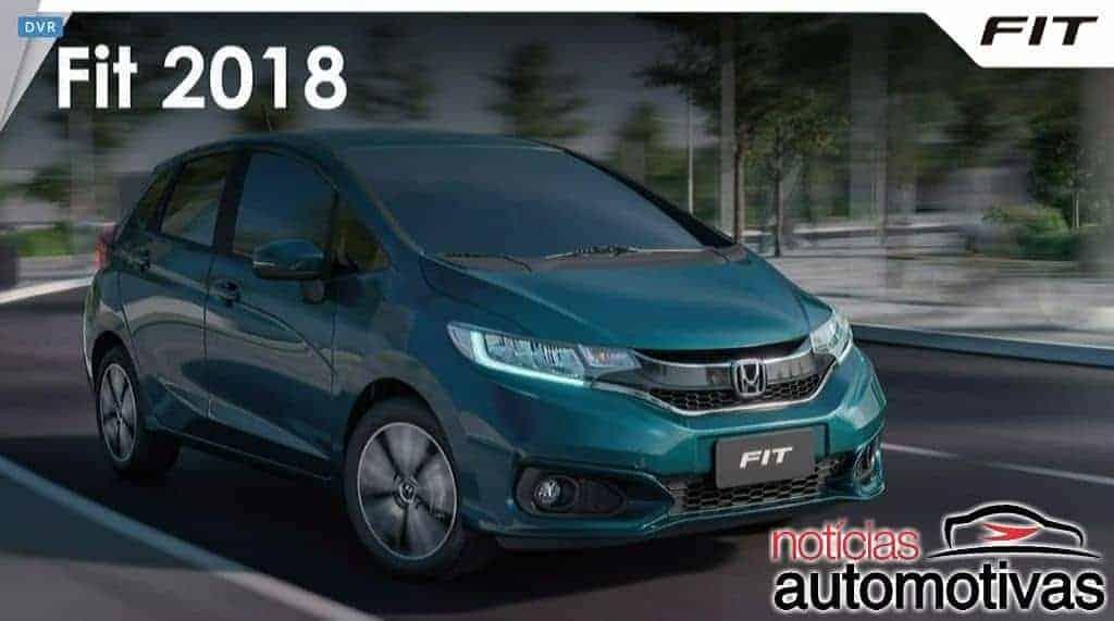 honda fit 2018 apresentação 6 - Honda Fit 2018 chega com mudanças no visual e conteúdo a partir de R$ 58.700