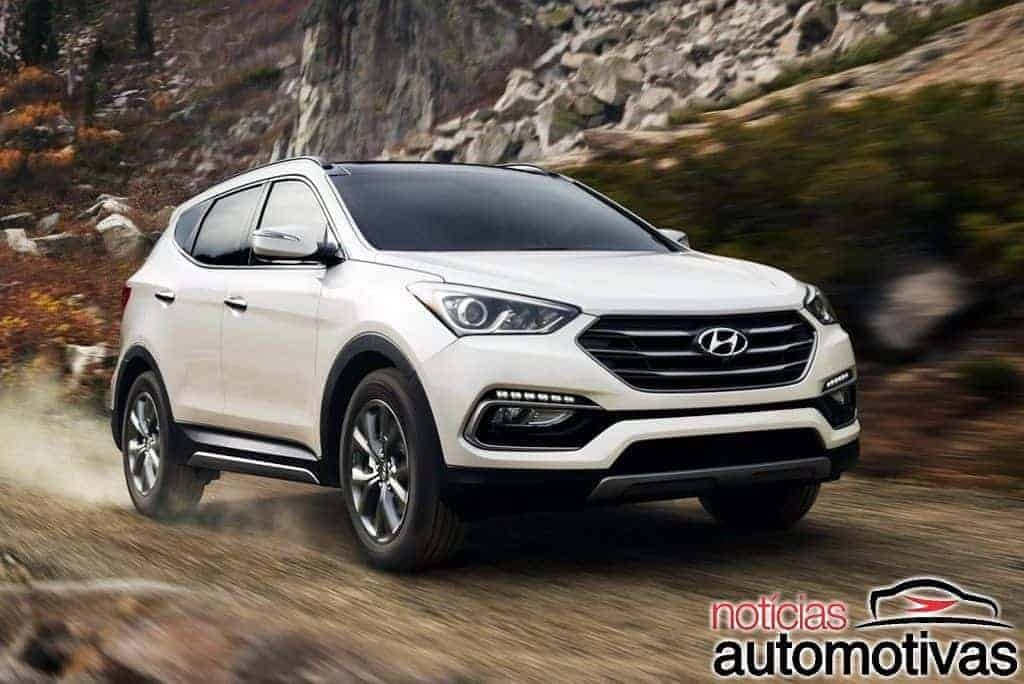 hyundai santa fe 2018 2019 pre o consumo revis o detalhes fotos. Black Bedroom Furniture Sets. Home Design Ideas