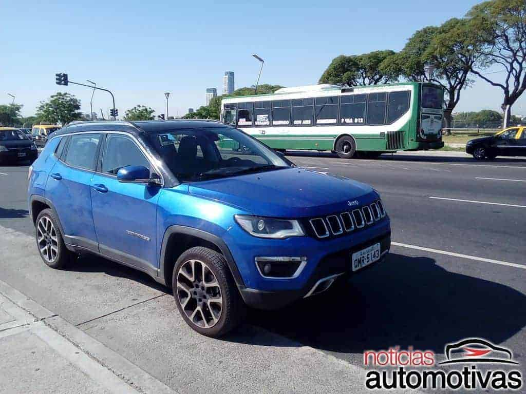 jeep-compass-argentina-29 Jeep Compass Limited Diesel foi a Buenos Aires - Confira o desempenho do SUV