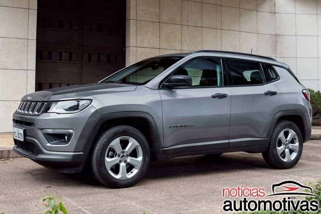 jeep compass 2017 com motor flex anunciado e pre os v o de r a r. Black Bedroom Furniture Sets. Home Design Ideas