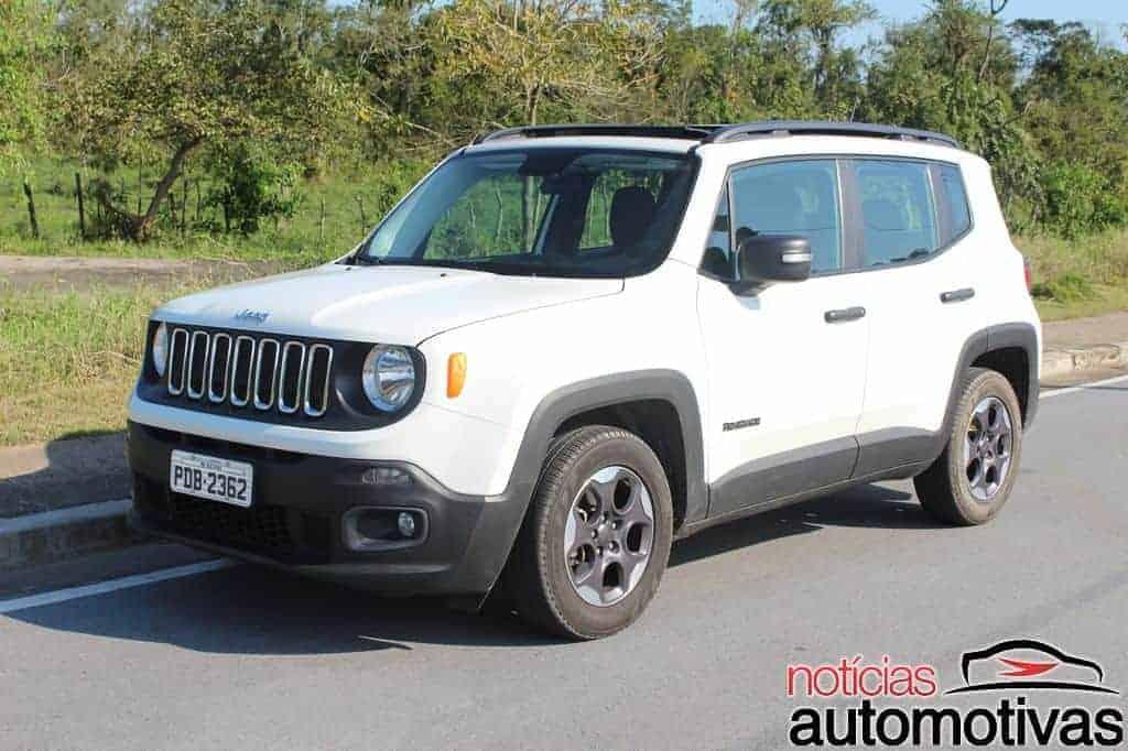 Lifted Jeep Renegade >> Jeep Renegade Sport 1.8 Flex sofre com baixa potência e ...