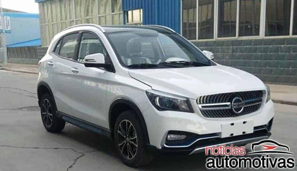 k-one-china-clone-gla-1 K-One é um Mercedes GLA xing ling e elétrico