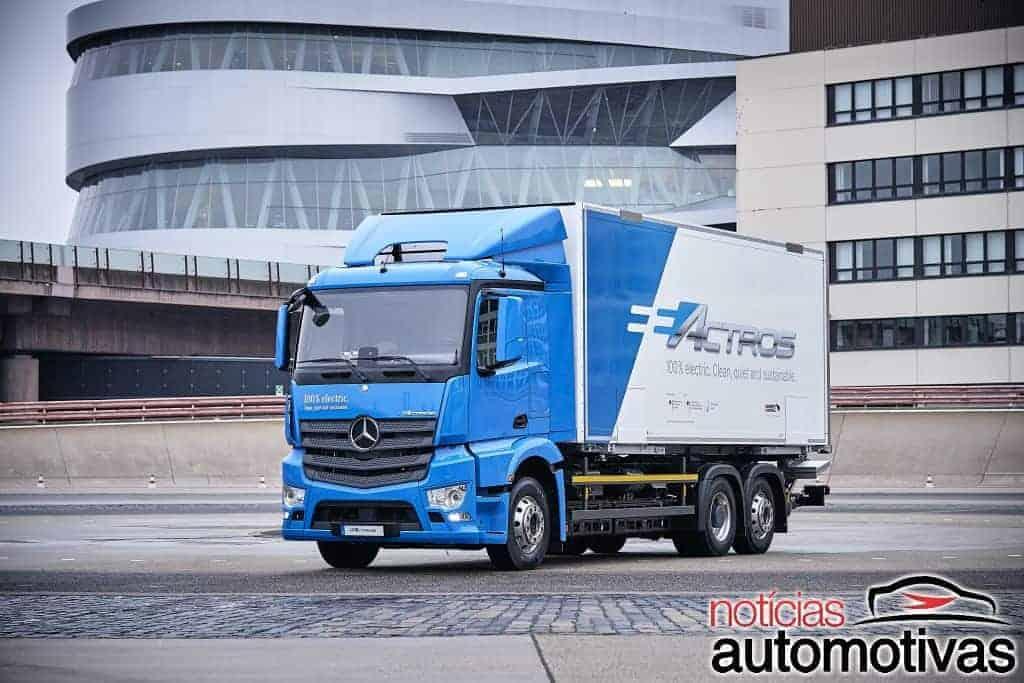 mb-eactros-1 Mercedes-Benz eActros: caminhão elétrico alemão será testado por clientes em 2018