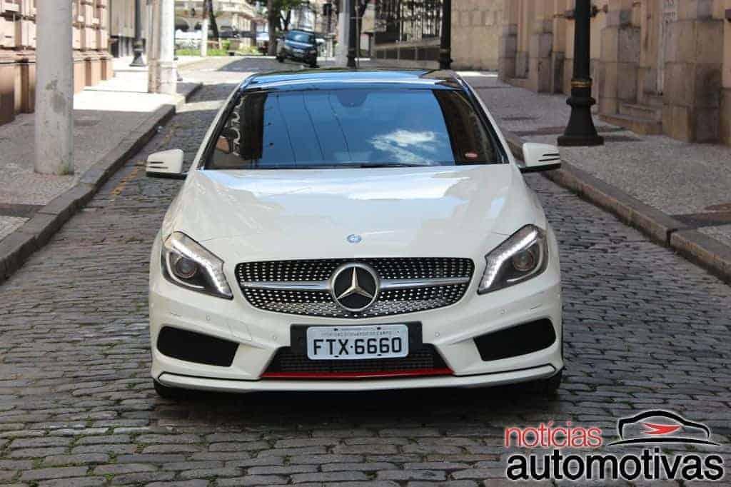 mercedes-benz-a250-turbo-sport-NA-9 Mesmo com pouco conforto, o Mercedes-Benz A250 Turbo Sport reúne performance e economia