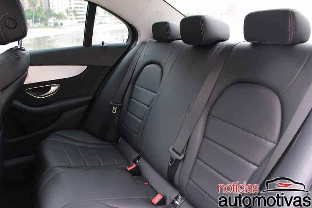 mercedes-benz-c200-avantgarde-avaliação-NA-19 Avaliação: Mercedes-Benz C200 Avantgarde é luxo com boa dose de esportividade