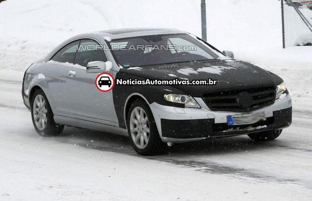 mercedes-benz-classe-s-coupe-facelift-1 Segredo: Mercedes Classe S Coupe vai ganhar um facelift em breve
