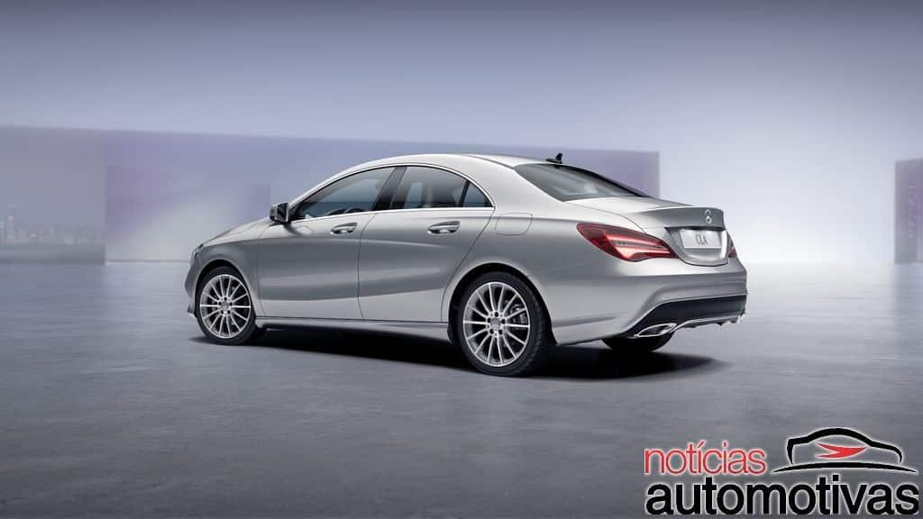 mercedes-cla-2017-2 Mercedes-Benz CLA 2017 chega atualizado e com preços a partir de R$ 156.900