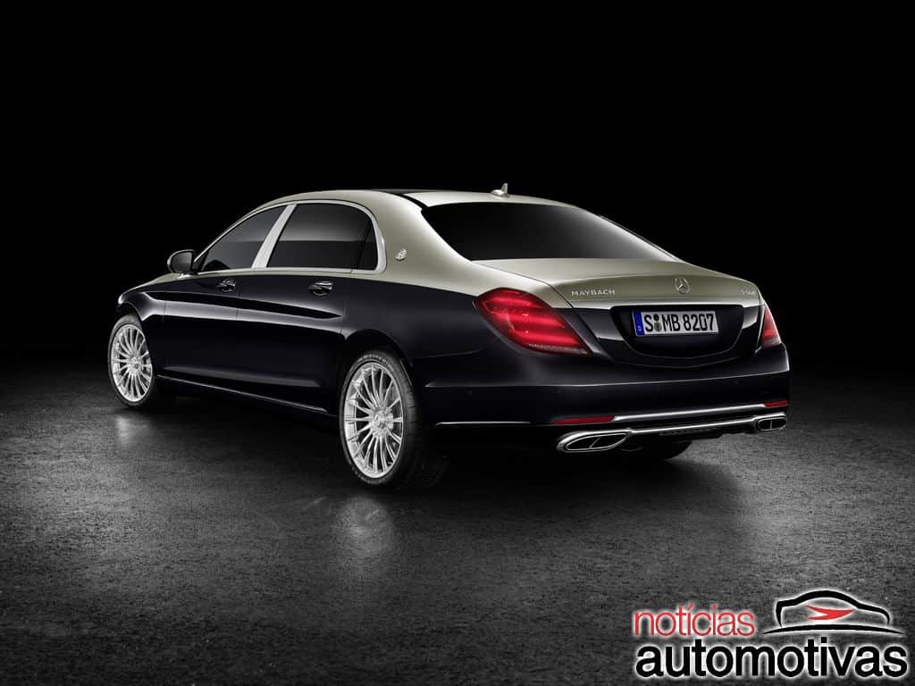 mercedes maybach classe s 2019 o suprassumo do luxo alem o. Black Bedroom Furniture Sets. Home Design Ideas