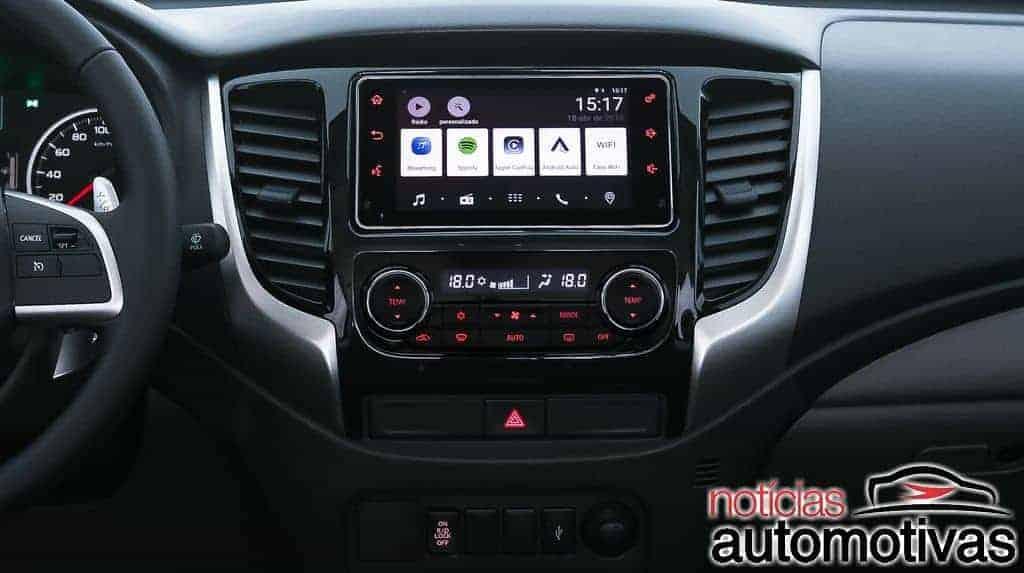 mitsubishi-l200-triton-2019-NA-1-1024x455 Mitsubishi L200 Triton Sport 2019 ganha atualização visual e amplia conectividade a partir de R$ 120.990