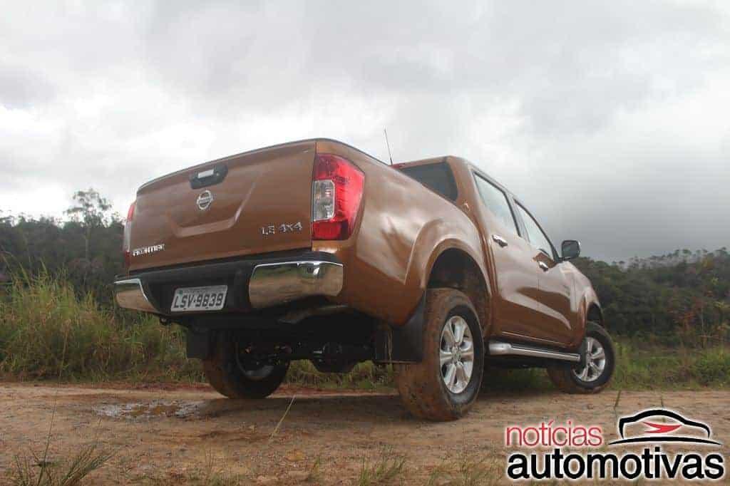 Avaliação: Nova Nissan Frontier tem boa dirigibilidade e robustez