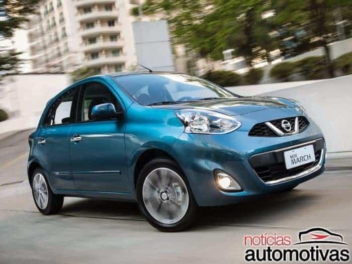 nissan-march-700x525 Nissan March vai adotar tecnologia de condução autônoma em até 10 anos