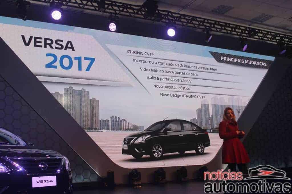 nissan march versa 2017 impressões NA 17 - Nissan March e Versa 2017 ganham câmbio CVT - Impressões ao dirigir