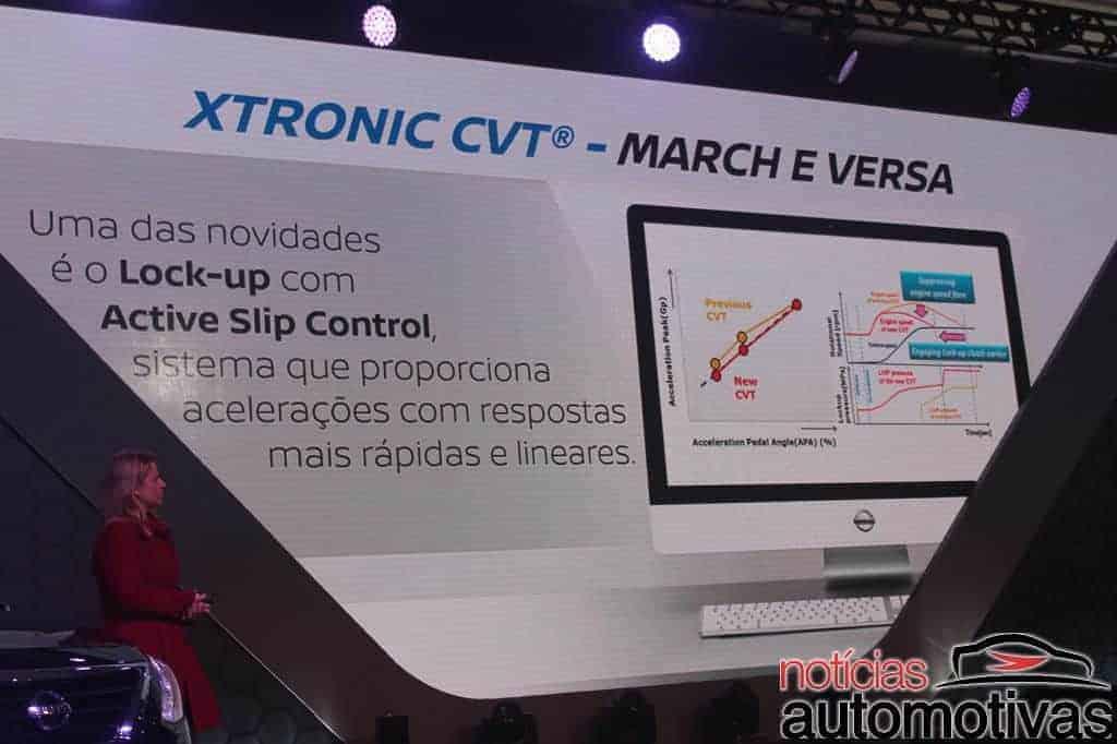 nissan-march-versa-2017-impressões-NA-8 Nissan March e Versa 2017 finalmente ganham câmbio CVT - Confira impressões ao dirigir