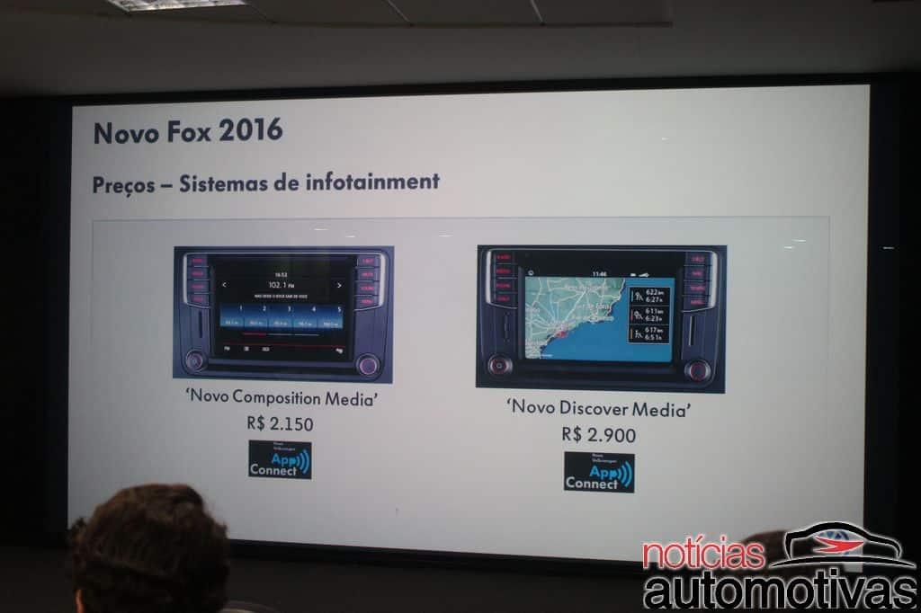 novo-fox-2016-apresentação-NA-25 Novo Fox 2016 apresenta multimídia com MirrorLink, Car Play e Android Auto