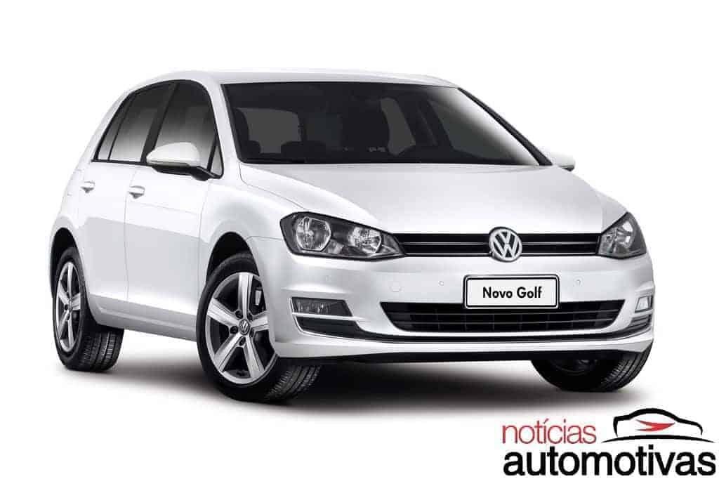 novo-golf-nacional-1 Novo Golf nacional é apresentado pela Volkswagen - Preços começam em R$ 74.590