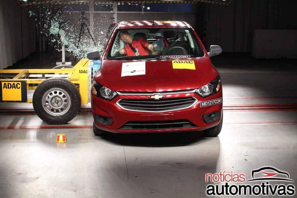 onix-ncap-2 Após crash test, Proteste quer retirar Chevrolet Onix do mercado