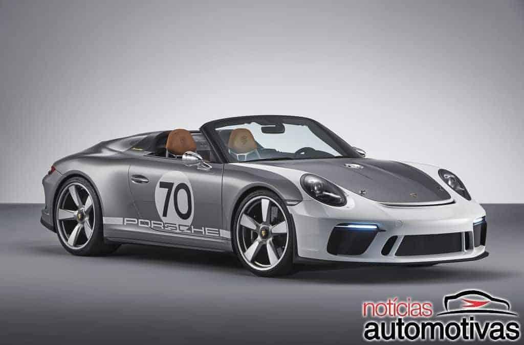 Porsche 911 Speedster Concept comemora os 70 anos da marca com 500 cv
