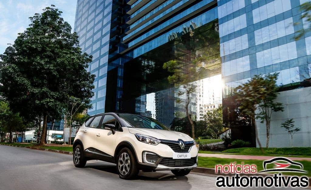 renault-captur-lançamento-NA-1 Renault Captur chega ao mercado nacional com preços a partir de R$ 78.900