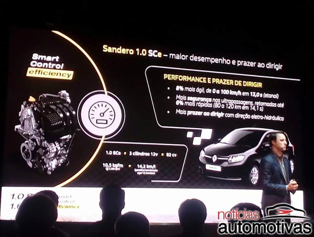 renault evento motores sce 23 - Renault anuncia novos motores 1.0 e 1.6 SCe para sua linha de compactos