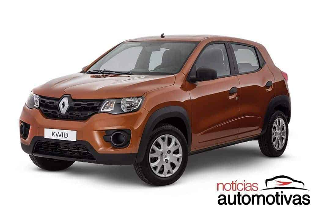 renault-kwid-2018-NA-46 Top 10: carros mais baratos com airbags laterais