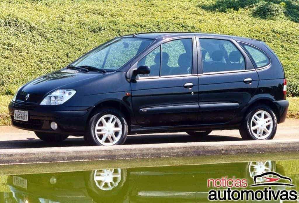 renault-scenic-expression-2007 Top 10: carros automáticos usados mais baratos