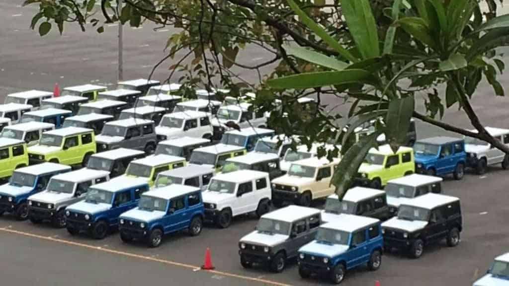 Novo Jimny é flagrado no Japão e pode aparecer no Salão do Automóvel