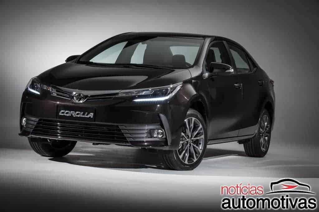 novo toyota corolla 2018 chega com pre os entre r e r blog das locadoras de. Black Bedroom Furniture Sets. Home Design Ideas