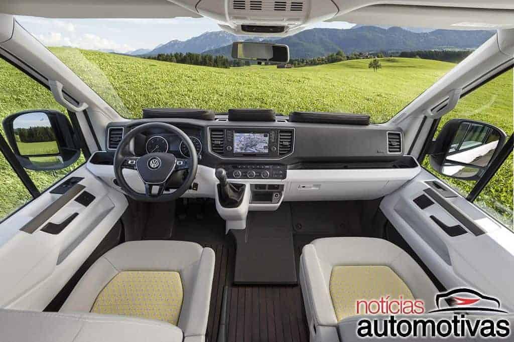 volkswagen-california-xxl-concept-1 Volkswagen Califórnia XXL Concept é proposta para motor home da Crafter