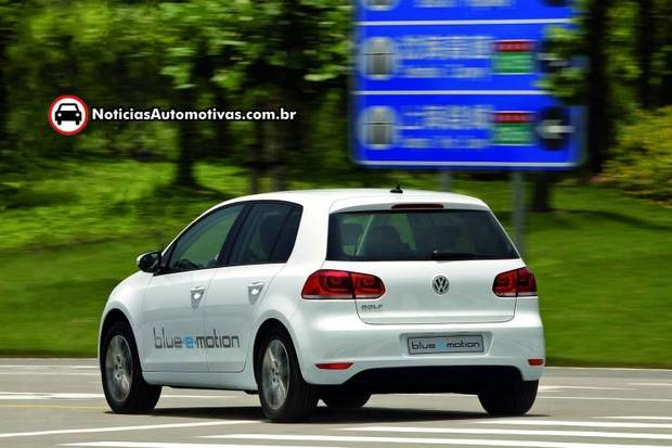 volkswagen golf blue e motion 2014 2 Volkswagen revela detalhes do Golf blue e motion 2014