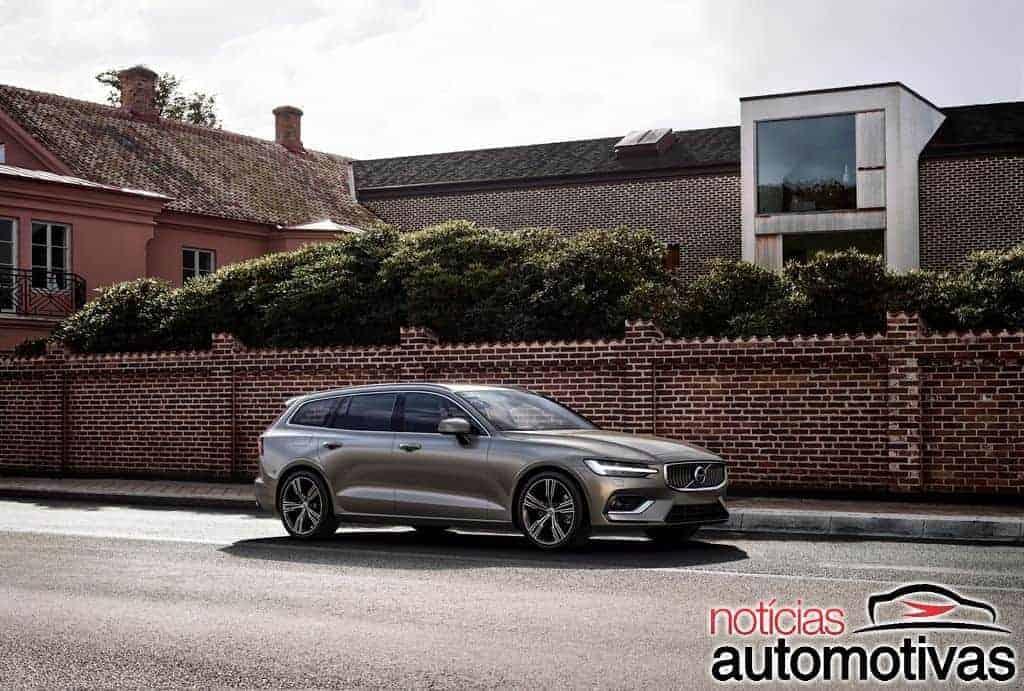 volvo-v60-2019-6 Volvo V60 2019 é lançada oficialmente na Europa e em breve chega ao Brasil