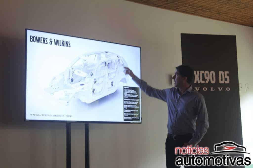 volvo-xc90-d5-2017-lançamento-NA-5 Volvo XC90 D5 2017 chega com motor a diesel e preço inicial de R$ 369.950