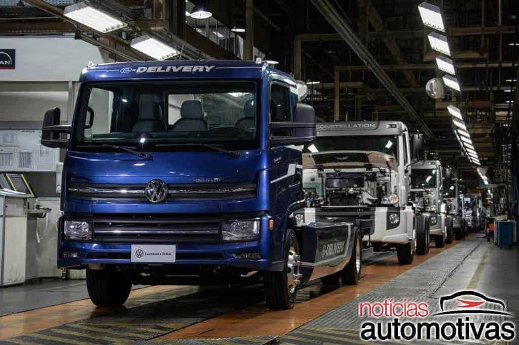 Volkswagen e-Delivery: caminhão elétrico brasileiro é apresentado na Alemanha
