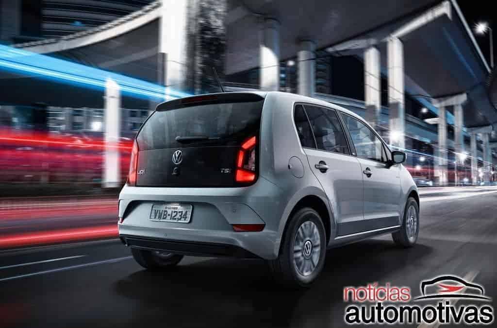 Com cross, Volkswagen up! 2018 chega com preços a partir de R$ 37.990