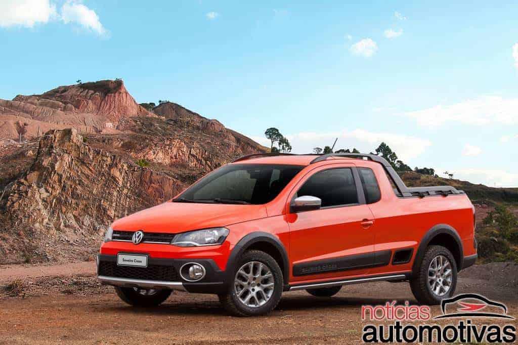 vw-saveiro-cross-2015-2 Volkswagen estréia motor 1.6 16V com até 120 cv na Saveiro Cross e no Gol Rallye e apresenta novidades da linha 2015