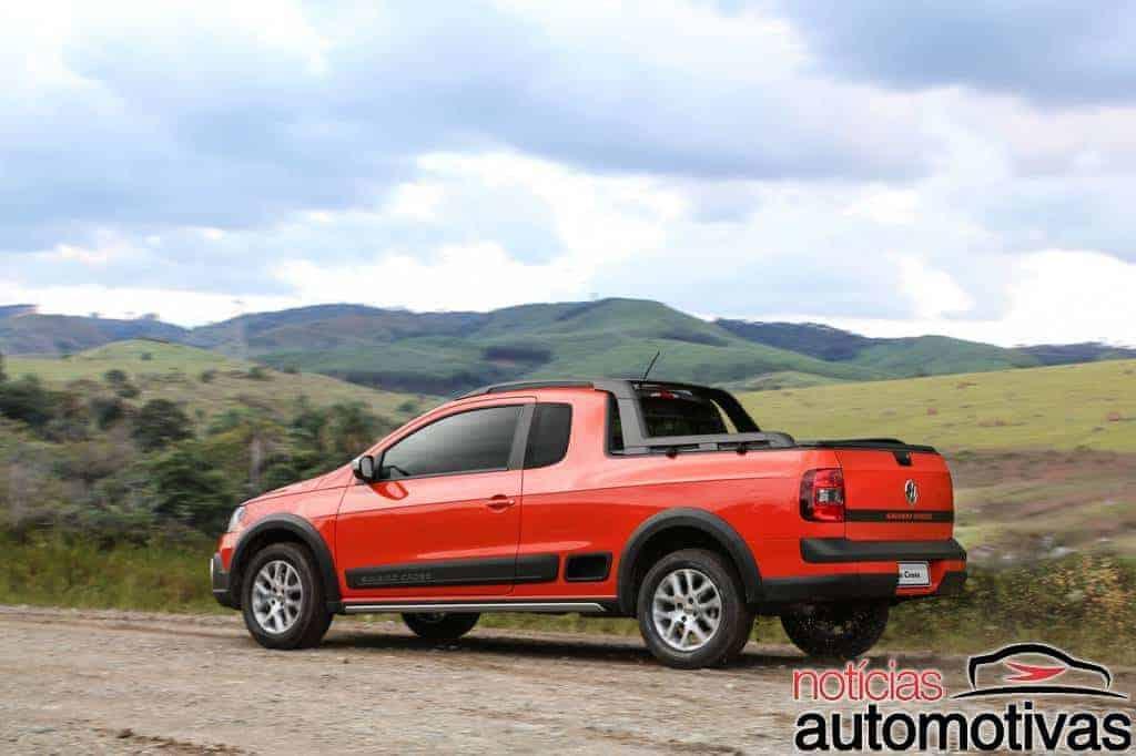 vw-saveiro-cross-2015-5 Volkswagen estréia motor 1.6 16V com até 120 cv na Saveiro Cross e no Gol Rallye e apresenta novidades da linha 2015