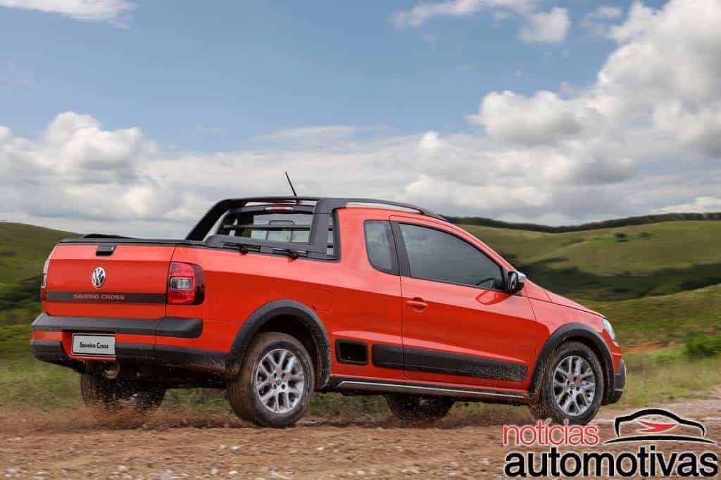 vw-saveiro-cross-2015-9 Volkswagen estréia motor 1.6 16V com até 120 cv na Saveiro Cross e no Gol Rallye e apresenta novidades da linha 2015