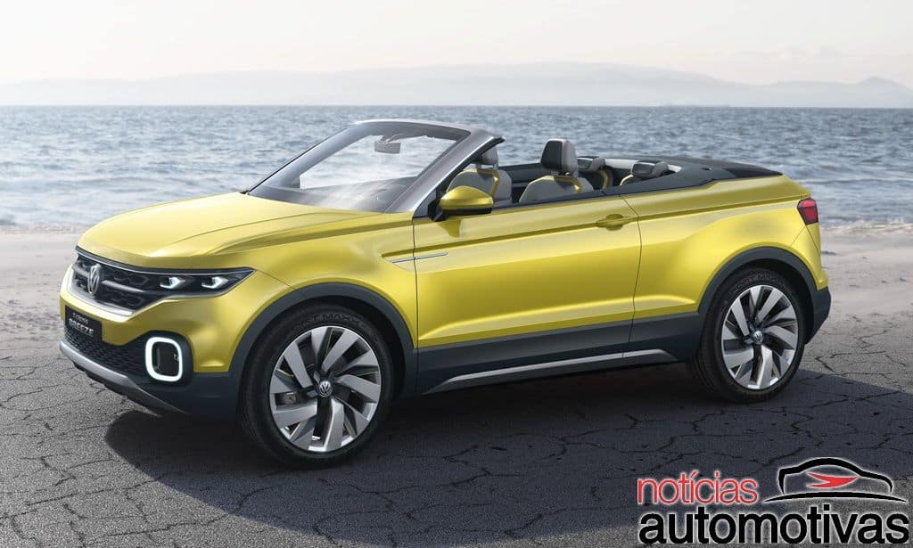vw-t-cross-breeze-11 Volkswagen T-Cross Breeze Concept é revelado para Genebra (vídeo)
