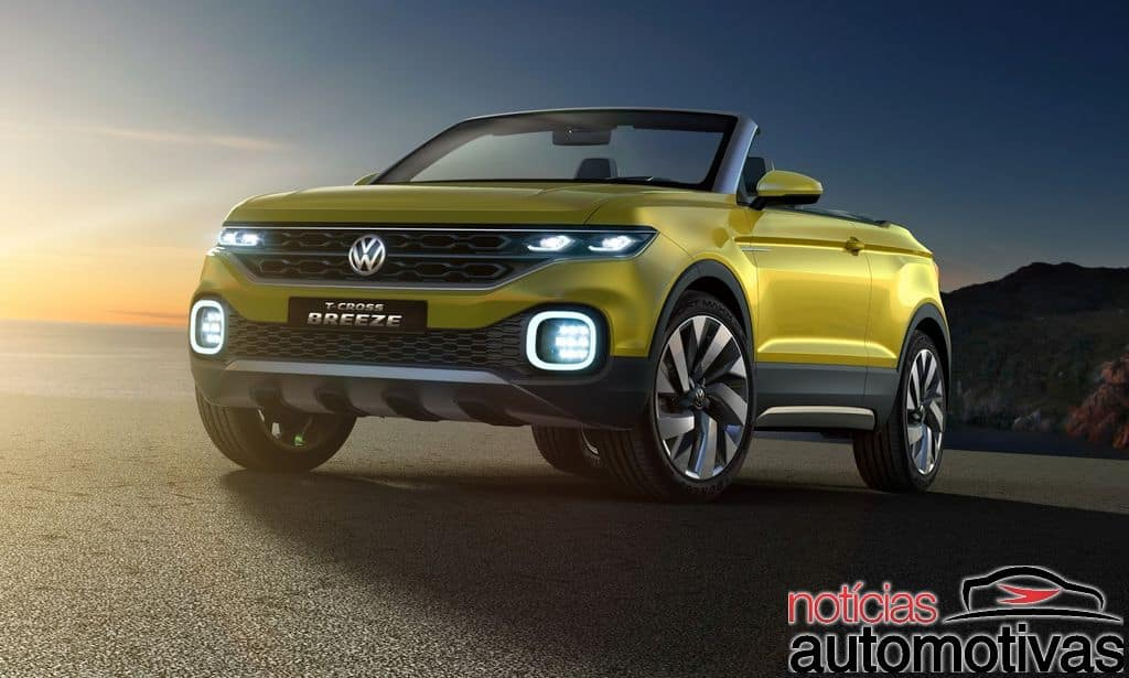 vw-t-cross-breeze-5 Volkswagen T-Cross Breeze Concept é revelado para Genebra (vídeo)