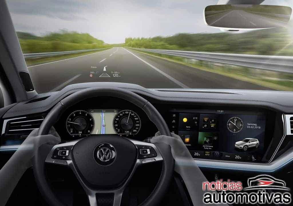 vw-touareg-2019-4 Volkswagen Touareg 2019 é apresentado na Europa