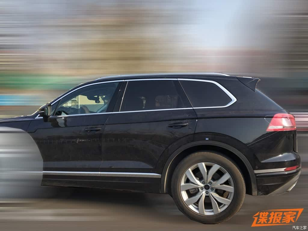 vw touareg china 2 - Volkswagen Touareg 2019 é flagrado na China