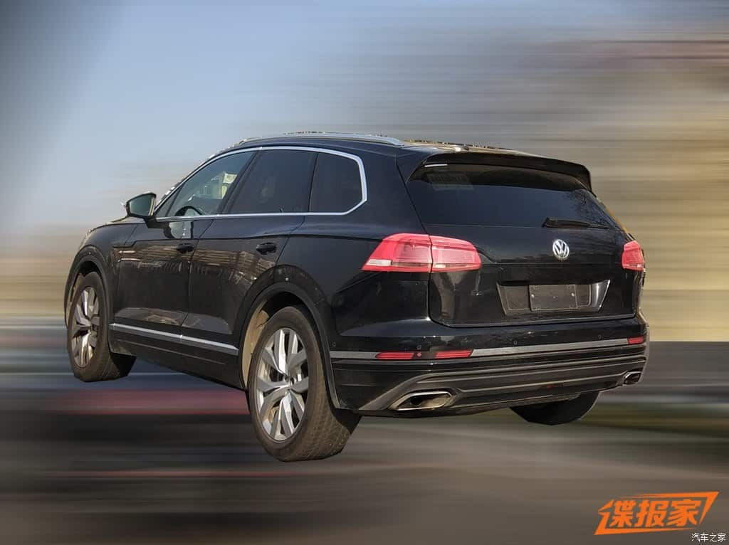 vw touareg china 3 - Volkswagen Touareg 2019 é flagrado na China